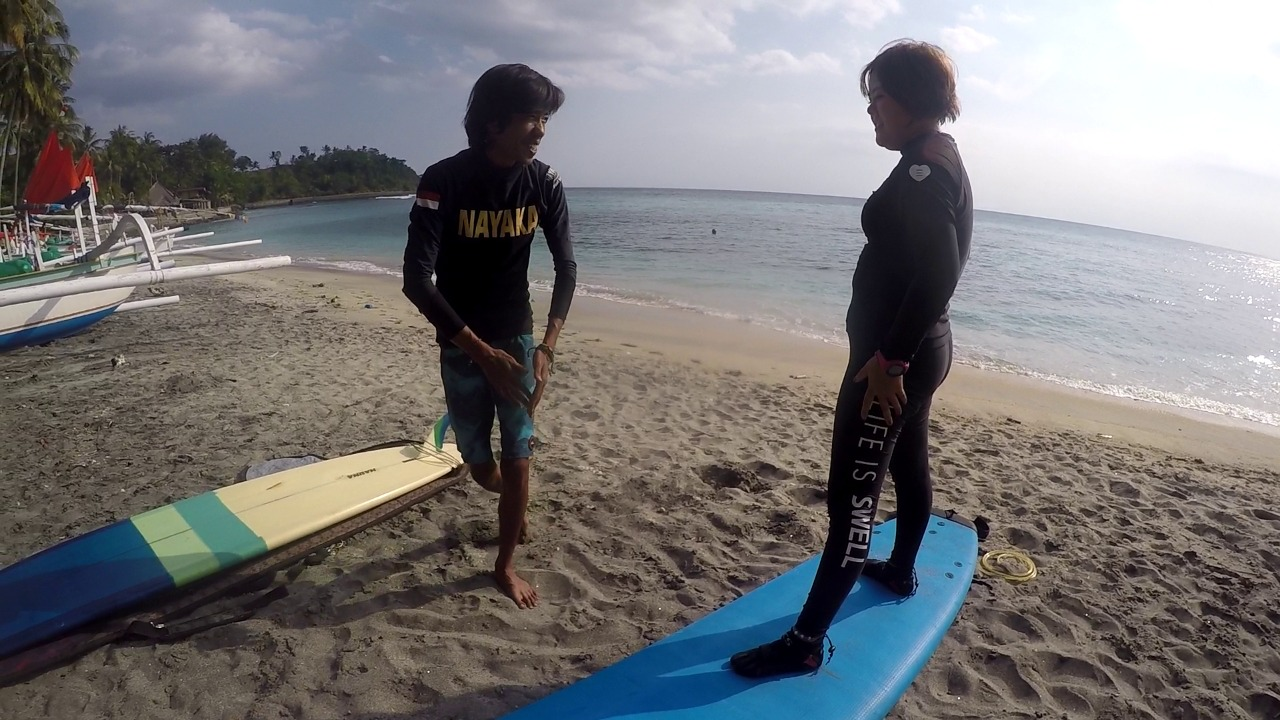 senggigi private suf lesson