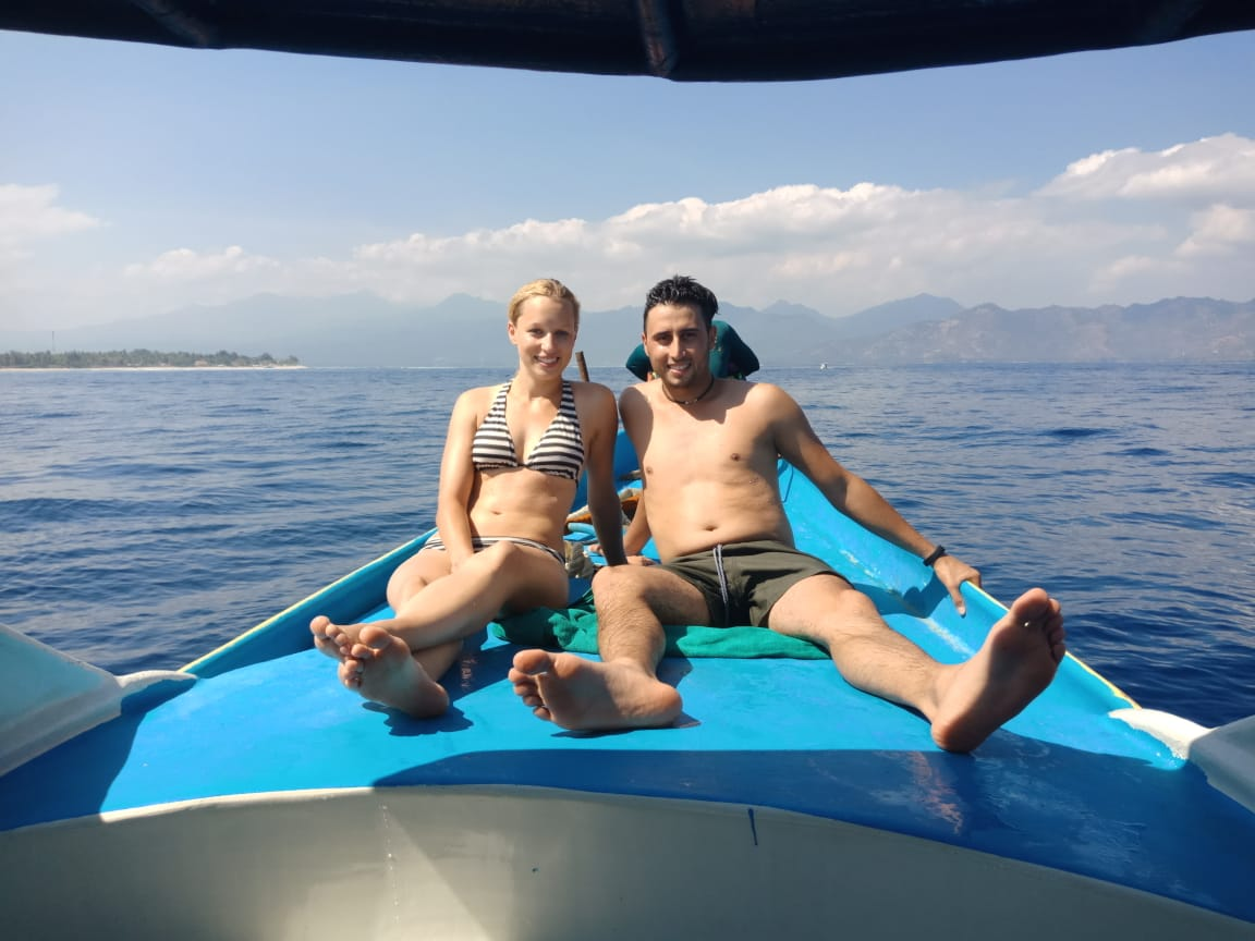 gili honeymoon