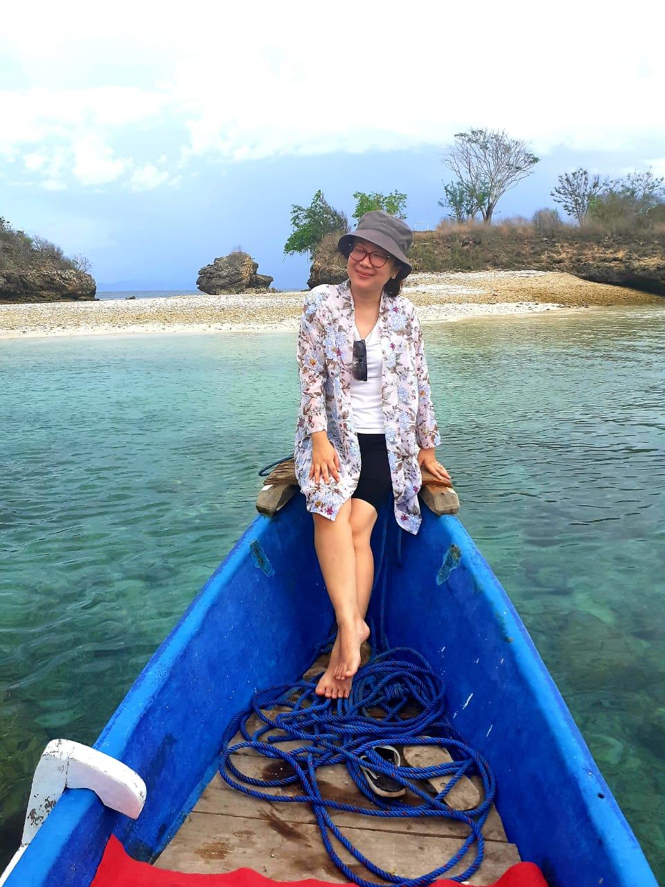 snorkeling pink beach lombok