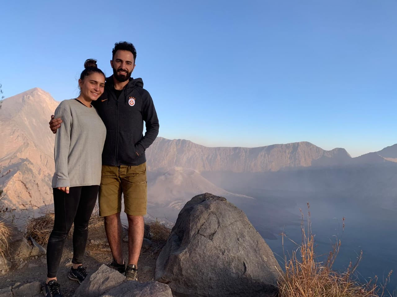 rinjani 2 days crater rim