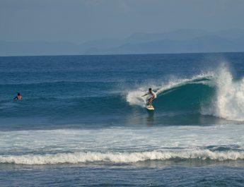 Senggigi Beach Intermediate surfer