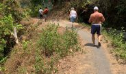 Natural Slope of Mount Rinjani Tour